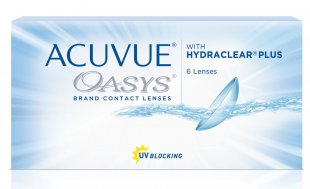 Acuvue Oasys with Hydraclear Plus, 6 линз