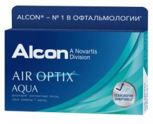 Air Optix Aqua, 3 блистера