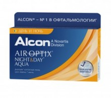 Air Optix Night & Day, 3 линзы